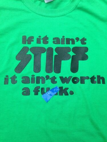 If It Ain/'t STIFF It Ain/'t Records Shirt S M L XL Pick Size//Color All Variations