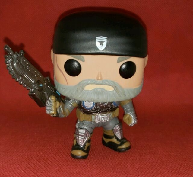 Pop Games Gears Of War Marcus Fenix Old Man 204