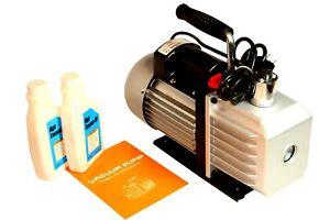 Vacuum Pump 2.6 CFM R12 R22 R134a 410a 2 Stage A/C Car #4010