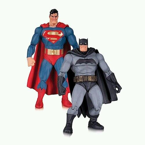 Dc comics der dark knight gibt superman und batman - 30. anniv.action - figuren