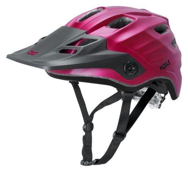 Kali Maya MTB Casco Burdeos Negro-Bicicleta De  Montaña Enduro MTB  tienda en linea