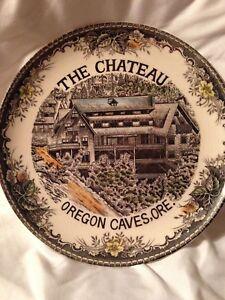 Vintage Oregon Souvenir Plate
