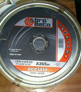 10-X-METAL-CUTTING-DISCS-125MM-5-INCH-FOR-ANGLE-GRINDER-1x-115-mm-mop-disc