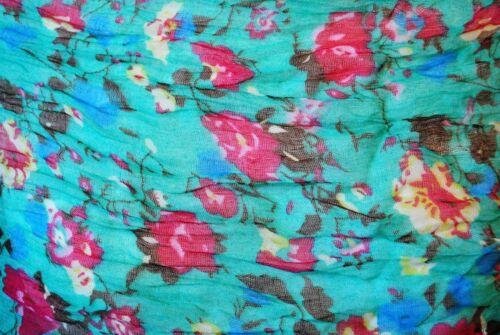 NUOVA Sciarpa a fiori