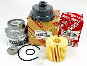 NEW GENUINE Oil Filter and Housing Cap 15620-31060 WITH CAP PLUG AND WRENCH