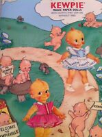 Vintage Repo Kewpie Doll Magic Paper Doll Magnet Old Stock In Package