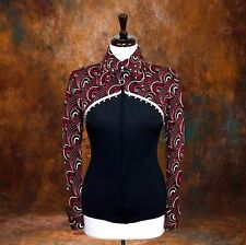 2X-SMALL Showmanship Pleasure Horsemanship Show Jacket Shirt Rodeo Queen Western