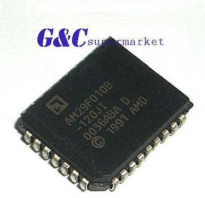 1PCS IC AM29F010B-120JC AM29F010B-120JI PLCC32  AMD  NEW