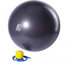 Energetics Physioball Gymnastikball 65cm Durchmesser Grau Neu