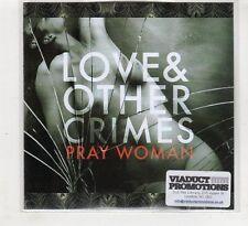 (HD170) Love & Other Crimes, Pray Woman - 2015 DJ CD