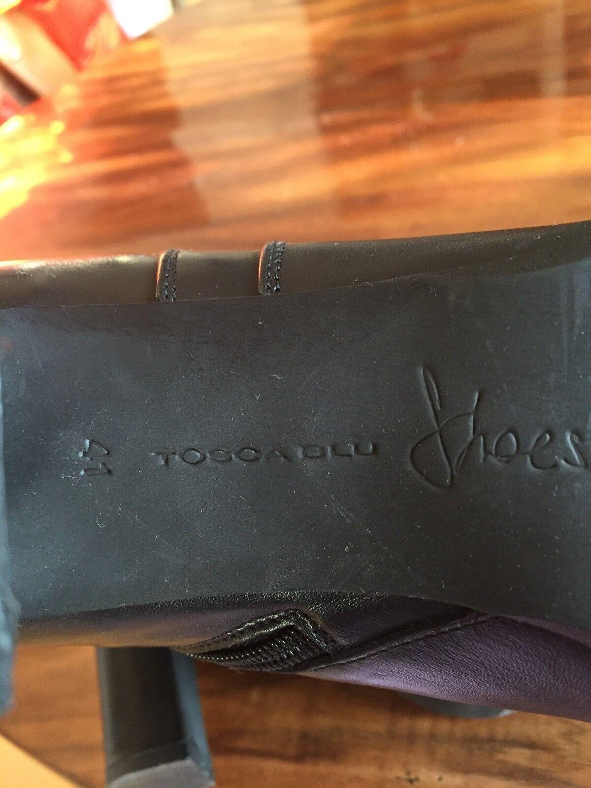 Tosca Blu Stiefelette Glatt Leder schwarz Grösse 41