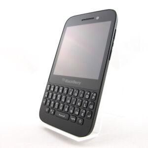 Blackberry Q5 Schwarz Ohne Simlock 8GB SQR100 Prepaid Tasten Mobiltelefon Gut