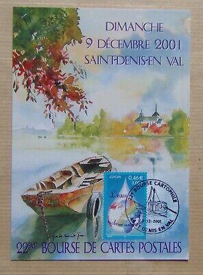carte 22ème bourse cartes postales SAINT DENIS EN VAL 2001 Loire en Loiret   eBay