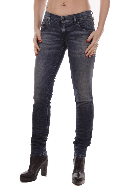 Diesel women Grupee R50P4 Jeans Aderenti Super-Sottile