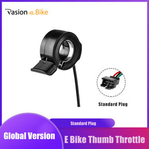 Ebike Thumb Throttle Spare For Electric Bike Scooter Thumb Throttle 24//36//48V