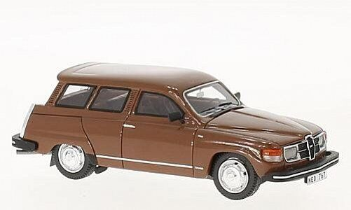 NEO MODELS Saab 95 GL Brown 1:43 43767