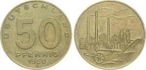 GDR 50 Pfennig 1950 A Mint State (6)