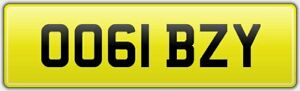 IBZY-QUALITY-PRIVATE-DVLA-CAR-REG-NUMBER-PLATE-OO61-BZY-FEES-PAID-IBZ-IBBO-IBBY