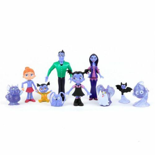 10PC Set Vampirina der Vamp Batwoman Junior Mädchen Abbildung Toy Collection