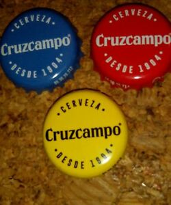 Chapa-tappi-capsule-kronkorken-bottle-cap-exotic-crown-Cruzcampo-Cerveza