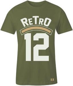 034-Retro-12-034-T-shirt-to-Match-Retro-034-Olive-034-12-039-s-CP3-Class-of-2003