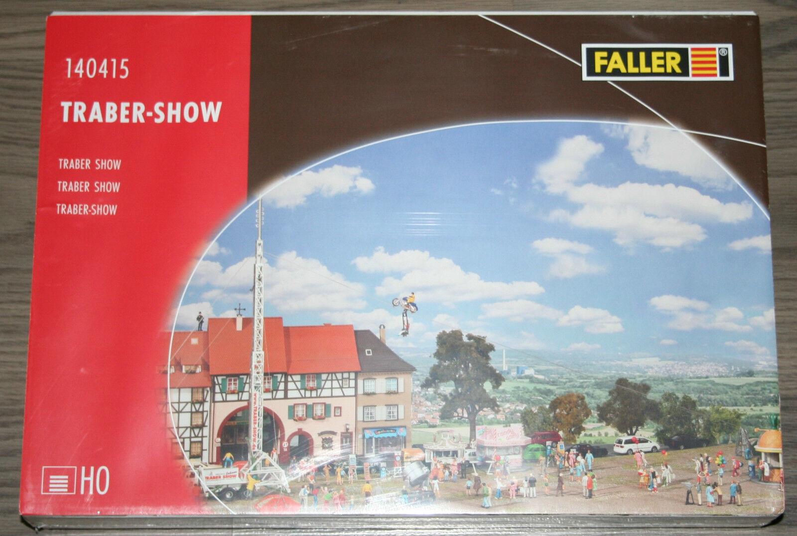 Traber-Show mit    Elektronische Steuerung  FALLER 140415   Spur H0  | Ich kann es nicht ablegen  48a040