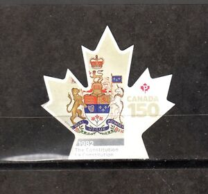 2017-CANADA-150th-SINGLE-THE-CONSTITUTION-1982-034-P-034-VALUE-UC-3005-VF-USED