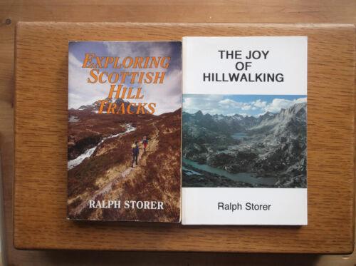 1 of 1 - RALPH STORER  EXPLORING SCOTTISH HILL TRACKS 1993 & THE JOY OF HILLWALKING 1994