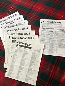 Open-Apple-Volume-1-thru-Volume-9-Plus-Index-Pages-See-Listing