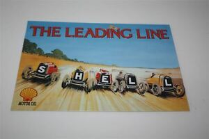 Conchiglia-Targa-di-Latta-The-Leading-Linea-Lim-Edizione-Motivo-1938-20x30-CM