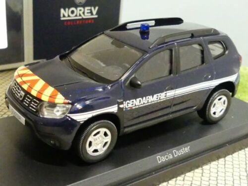 1//43 norev Dacia Duster 2018 gendarmería 509009