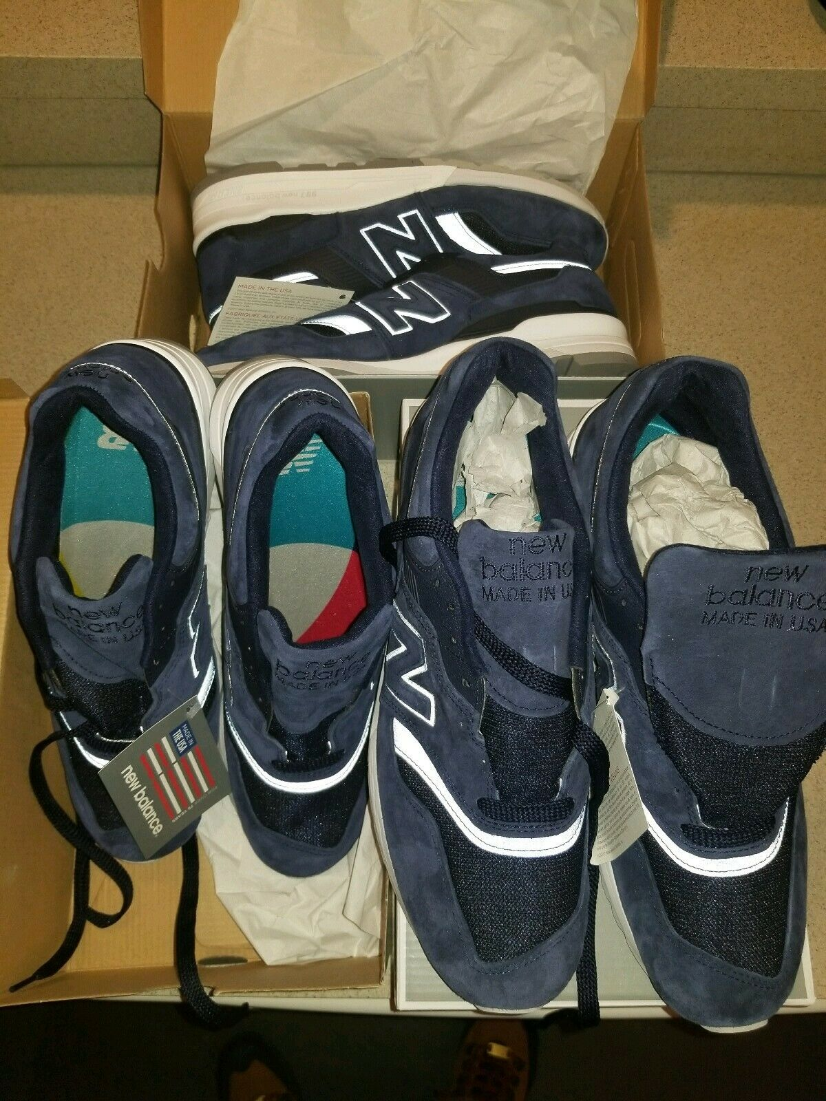 New balance 997 Athletic Running scarpe 3M Lifestyle scarpe da ginnastica Cross-Trainer 998 11