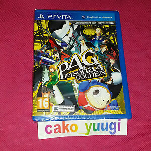 PERSONA-4-GOLDEN-PS-VITA-SONY-VERSION-FRANCAISE-PLAYSTATION-VITA-NEUF-NEW