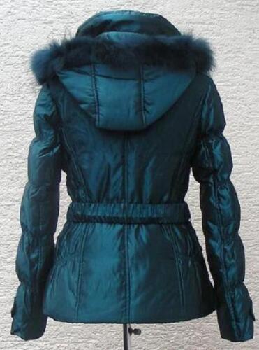 Nwt blå sø Down Jacket sn1125 Winter Kvinder rUqvYr