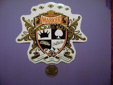 MARKER DUKE SKI BINDINGS MARKER JESTER BINDINGS MARKER BINDING STICKER