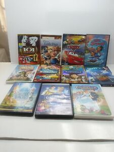 11 Disney DVD Collection LOT Boy Girls Family Movies