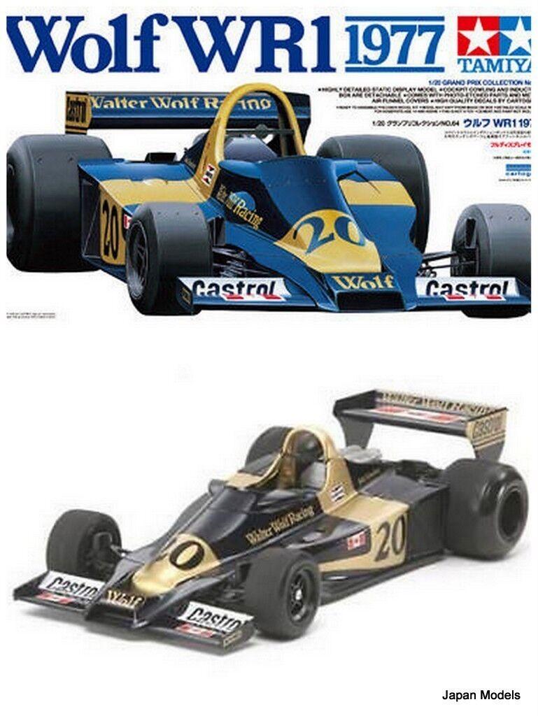 elige tu favorito WOLF WR1 1977 1977 1977 Jody Scheckter With Photo Etched Tamiya 20064 1 20 Model Kit New  salida de fábrica
