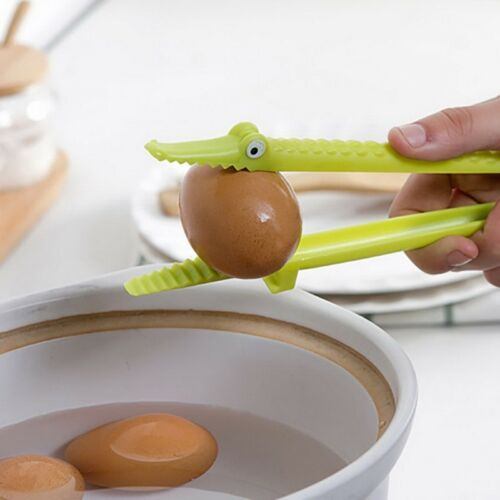 Crocodile Salad,Vegetable,Fruit Clips BBQ Tongs Kitchen Baking Tools