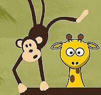 The monkey and giraffe store