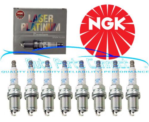 8 NGK LASER PLATINUM SPARK PLUGS FOR MERCEDES-BENZ CL550 CLK550 E550 G550 GL550