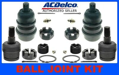 46D0058A 84-01 XJ CHEROKEE BALL JOINT KIT Front Upper Lower ACDELCO 46D2117A
