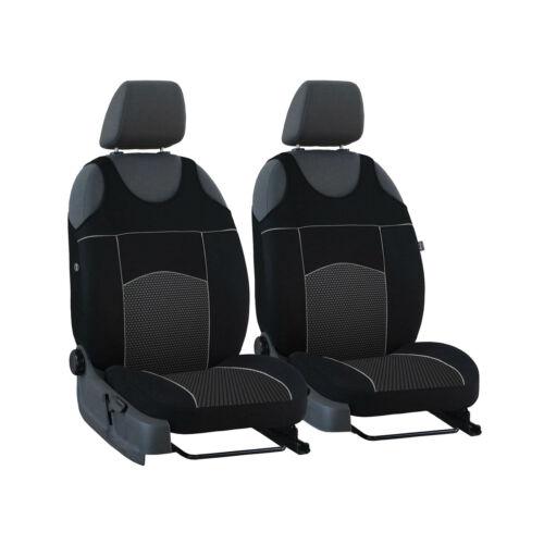 Universal Housses de Protection Noir Pour Mercedes Sprinter II sièges avant Sitzbezüge