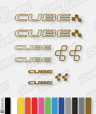 Cube Frame Decals Kit - Custom Colours + Matte + Fluorescent