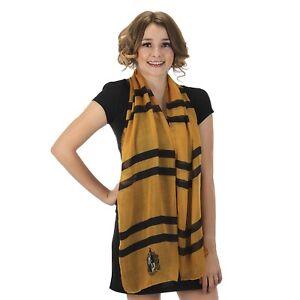 Hufflepuff-Lightweight-Yellow-Scarf-Harry-Potter-Halloween-Costume-Accessory