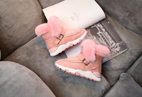 Infant Baby Toddler Winter Warm Snow Boots Kid Boy Girl Sneakers Shoes Anti-slip
