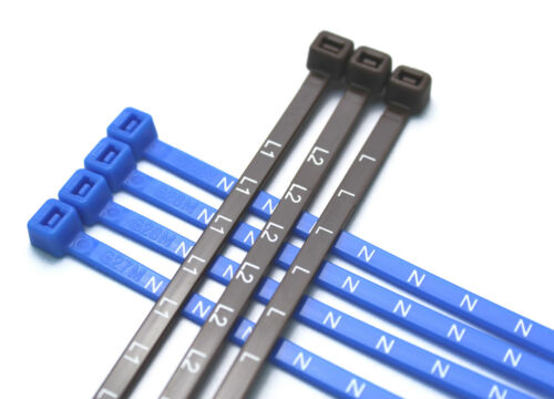 Various Pack Sizes Printed Electrical Metering Cable Ties L L1 L2 L3 N