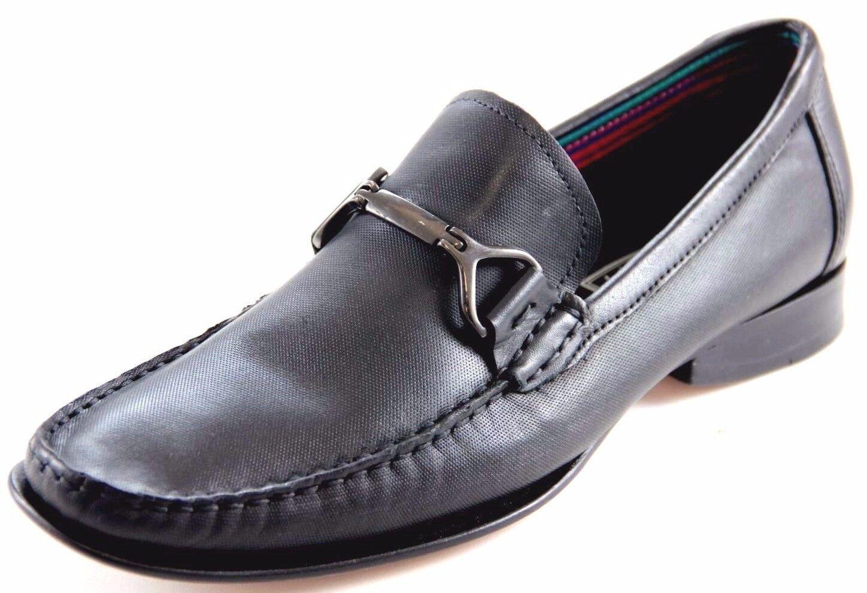lo stile classico Sarreti Uomo Slip On nero Leather Dress Dress Dress scarpe Made In Brazil 23323-5501  miglior servizio