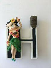 Alphabet Letter O Betty Boop W Orange Ornament /& Wall Hang