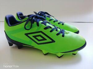 UMBRO-VELOCITA-Club-Vert-Chaussures-De-Football-Taille-5-EU-38