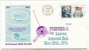 1974 Pioneer 11 Leaves Asteroid Belt Jupiter Cape Canaveral Nasa Ames Satellite Diversifié Dans L'Emballage